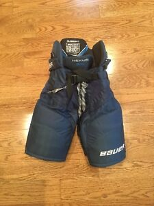 Junior Hockey Pants (Navy Blue) Sizes Medium and Small