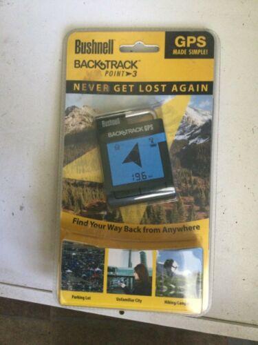 NEW Bushnell BackTrack Point-3 Handheld GPS Model 360100 SEALED!