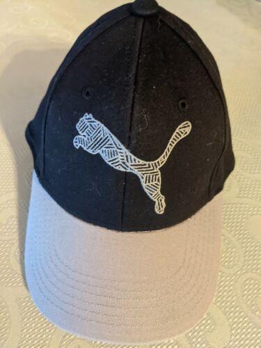 Puma youth jeunesse black gray cap