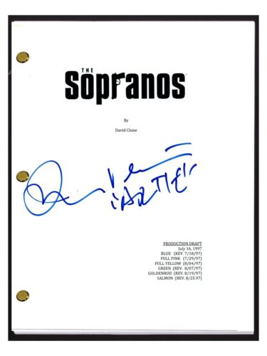 John Ventimiglia Signed Autograph THE SOPRANOS Pilot Script Artie Bucco COA