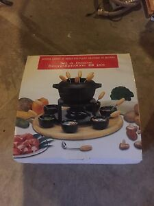 Fondue set. Brand new.