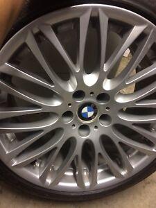 bmw 750li 4 seasons tires and rims 20inch