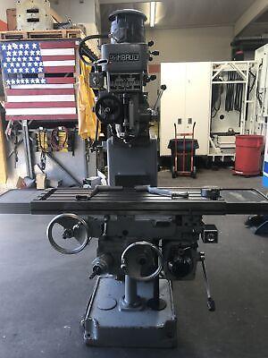 Rambaudi V2 12x42 Heavy Duty Vertical Milling Machine Power Feed Table