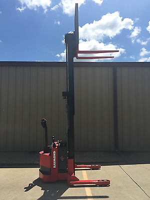 2006 Raymond Rss40 Walk Behind Forklift Straddle - Very Nice Double 128 3750lb