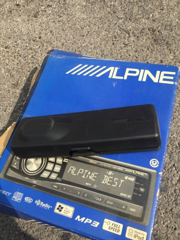 Alpine Radio Face Plate Case faceplate (Case Only)