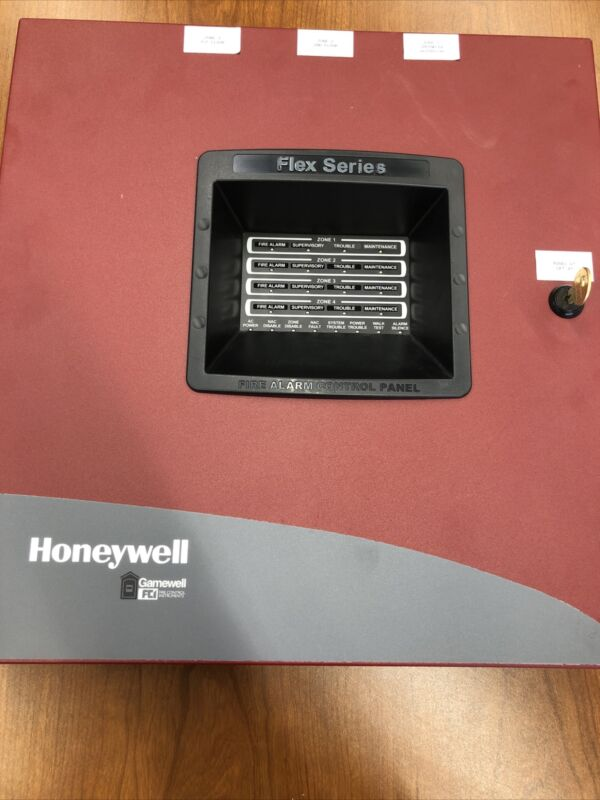 Honeywell Gamewell FCI Flex 404 Fire Alarm Control Panel Used