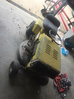Greenfield Honda ride on lawn mower