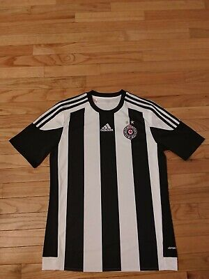 FK Partizan 2015 Adidas Climacool Youth Soccer Jersey Size XL image