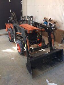 Tracteur kubota b60000