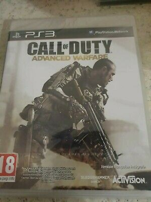 CALL OF DUTY ADVANCED WARFARE PS3 _ VERS FRANÇAISE _NEUF CELLO OFFICIEL...