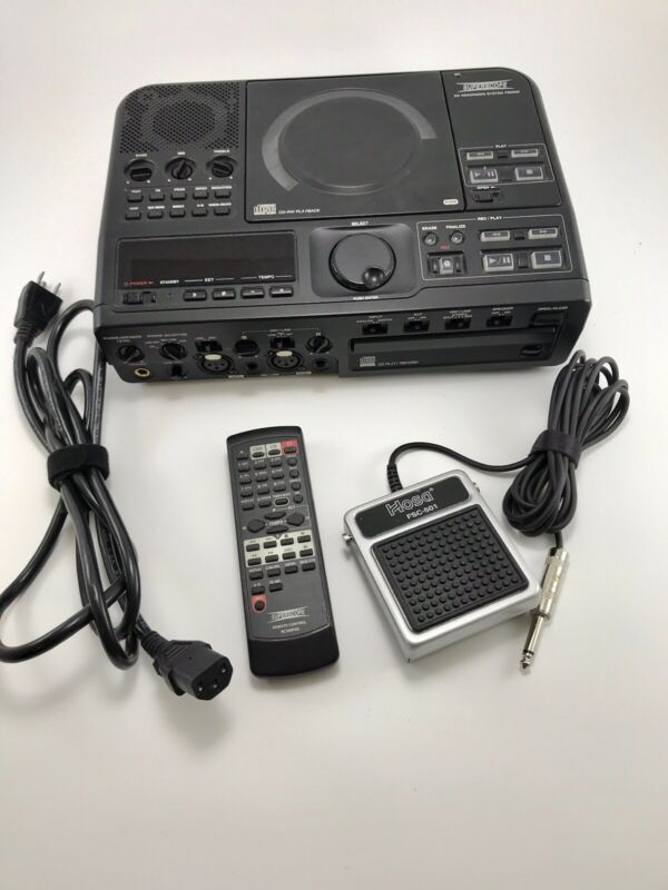 Superscope PSD300 CD Recording System Remote & Hard Case
