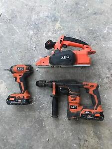 AEG power tool set North Hobart Hobart City Preview