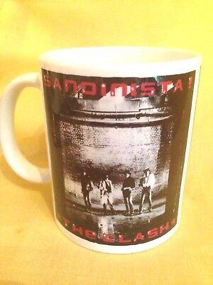 THE CLASH,SANDINISTA 1980 - ALBUM  COVER ON A MUG.