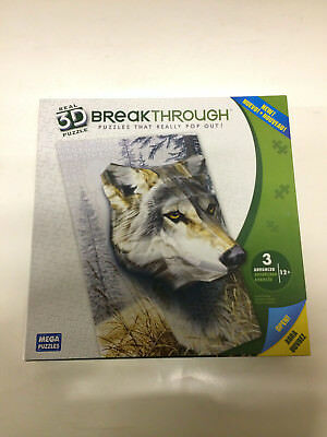 Breakthrough 3D Wolf Puzzle