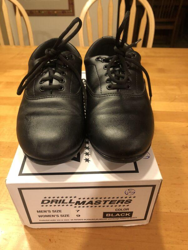 Drill Masters Marching Band Shoes Black, Mens Sz.7/Women's Sz.9, free ship!