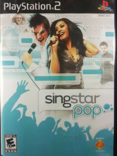 PlayStation2 SingStar Pop Vol. 2 VideoGames - $6.74