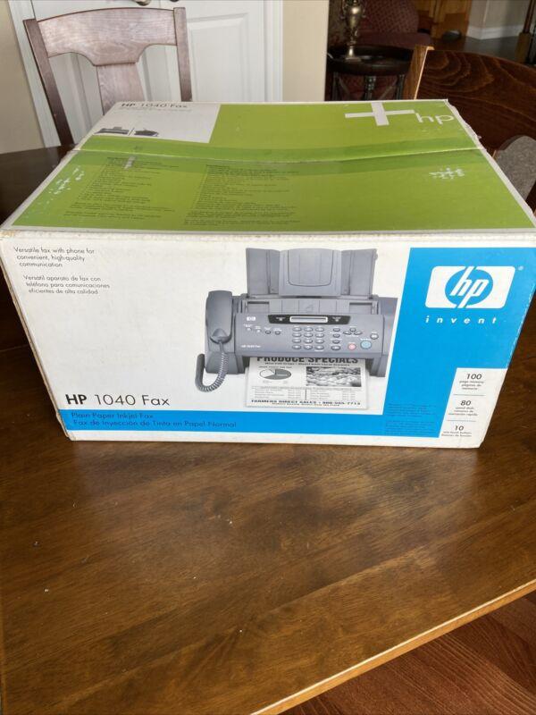 NEW HP 1040 Fax Machine Plain Paper Inkjet Fax