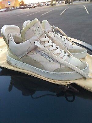 Louis Vuitton Dons Cream White Yeezy 350 Kanye West Jasper Low lv. 7 1/5 Us