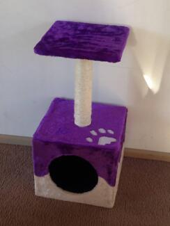 Single Platform Cat Tree Purple North Melbourne Melbourne City Preview