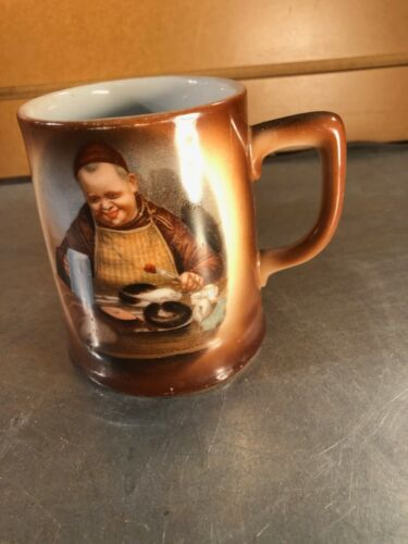 Collectible Monk/ Friar Stein, Mug, Cup - Monk Eating