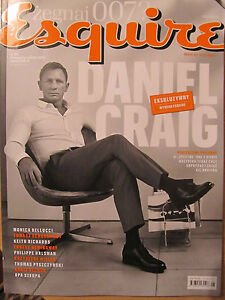 Esquire 5/2015 front Daniel Craig,James Bond,in:Monica Bellucci,Salvador Dali - <span itemprop='availableAtOrFrom'>Bialystok, Polska</span> - Esquire 5/2015 front Daniel Craig,James Bond,in:Monica Bellucci,Salvador Dali - Bialystok, Polska