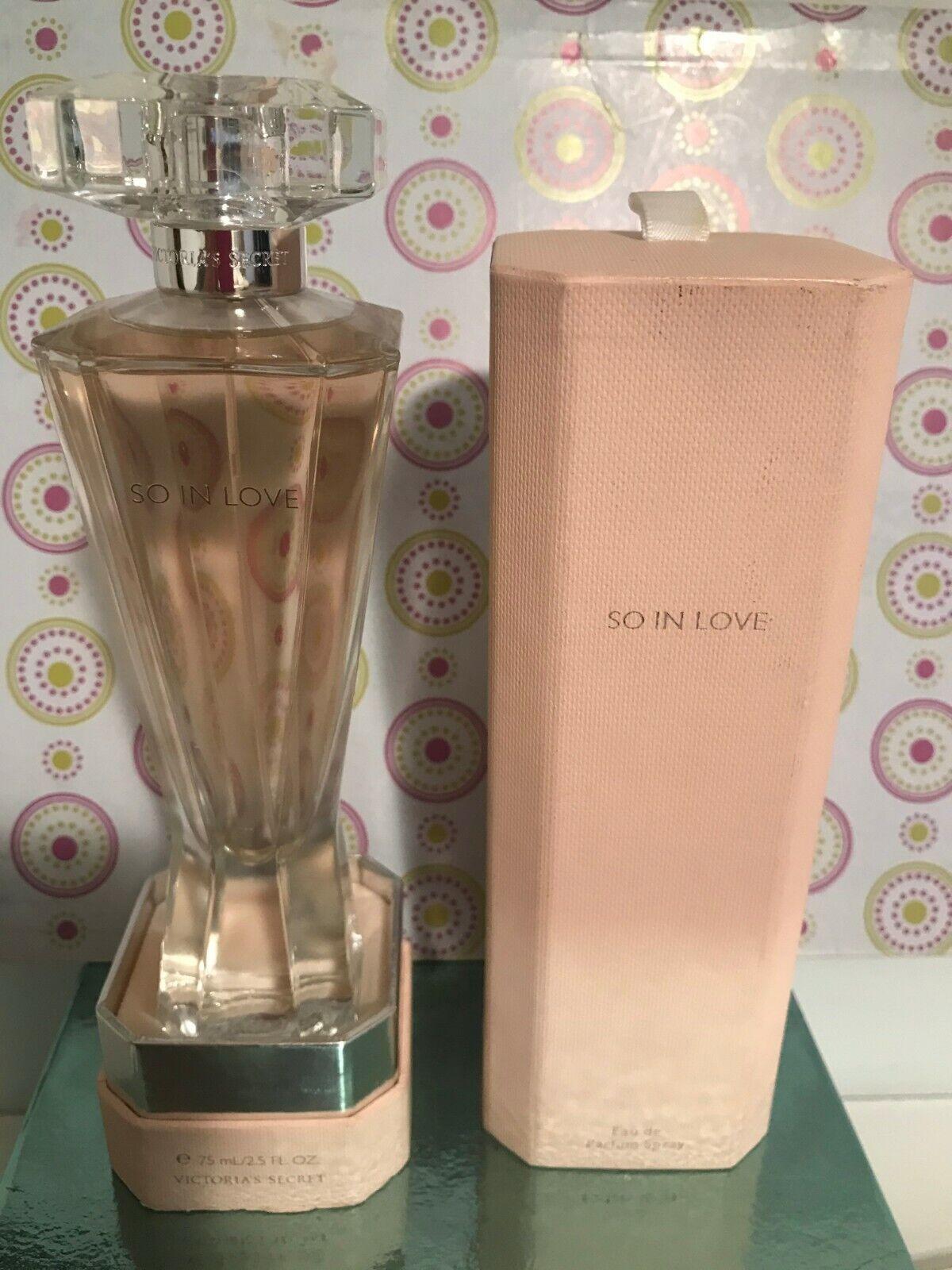 Victoria s Secret SO IN LOVE Eau De Parfum 2.5 FL. OZ./ 75 ML - $80.00