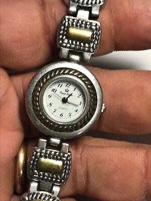 Ladies Dual Tone Toggle Band Premier Designs Analog Watch