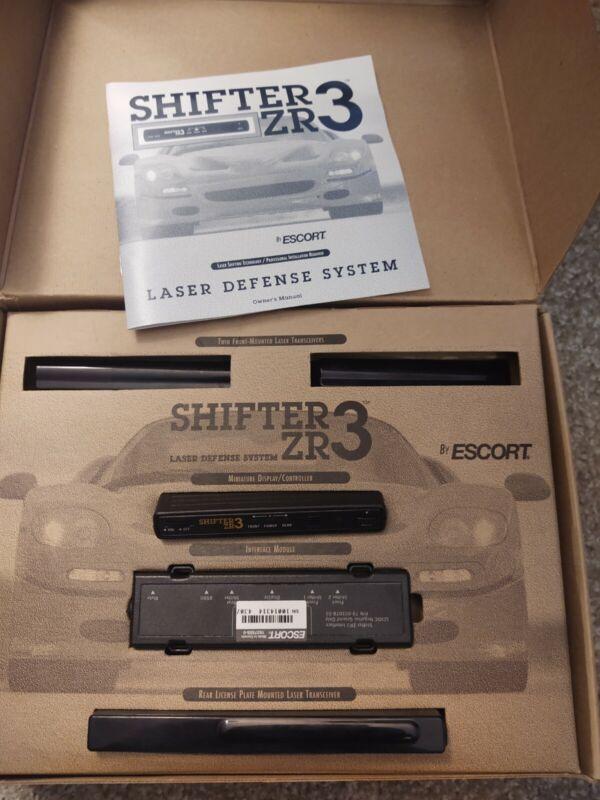 Escort ZR3 Laser Shifter Jammer Blocker Radar Passport Compatible
