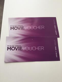 Movie Voucher Village Cinemas (Two Adult tickets)