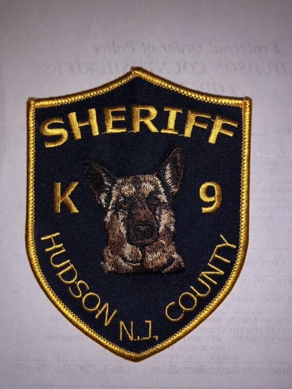 SHERIFF K-9 PATCH