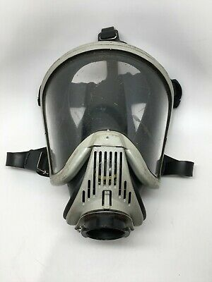 Msa Ultra Elite 7-935-4 Firefighter Full Facepiece Respirator Air Mask Size M