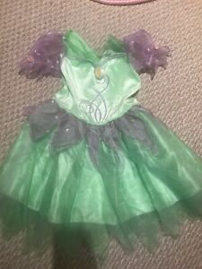 Tinkerbell dress up costume size 7-8
