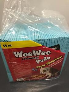 Puppy Wee Wee Toilet Training Pads 50 pack Newmarket Brisbane North West Preview