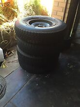 4 X Steel Toyota Rims Hamersley Stirling Area Preview
