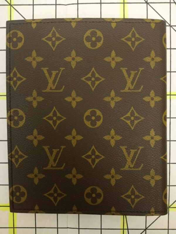 Vintage Rare Louis Vuitton Monogram Leather Cover Address Book