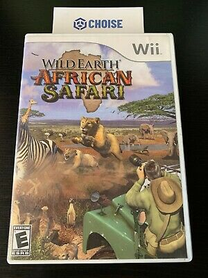 Wild Earth: African Safari (Nintendo Wii, 2008) *USED*