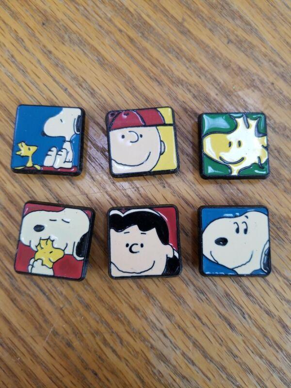 Peanuts Enamel Button Covers