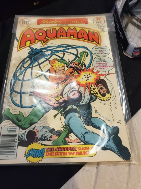Aquaman Vintage Comic Book