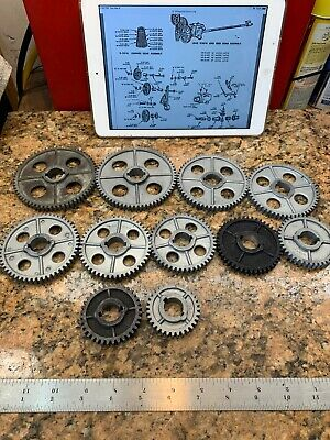 Complete Atlas Craftsman Lathe 10 12 Lathe Change Gear Set G85