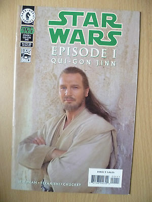 DARK HORSE COMIC STAR WARS- EPISODE I, QUI-GON JINN, MAY 1999