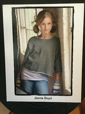 Jenna Boyd , original vintage headshot photo with credits #2