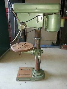 Herless Drill Press 16mm Heavy Duty Morse Taper 12 Speed 240 Volt Bacchus Marsh Moorabool Area Preview
