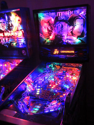 DEMOLITION MAN Complete LED Lighting Kit custom SUPER BRIGHT PINBALL LED KIT