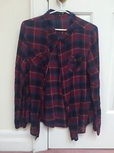 Womens plaid shirt