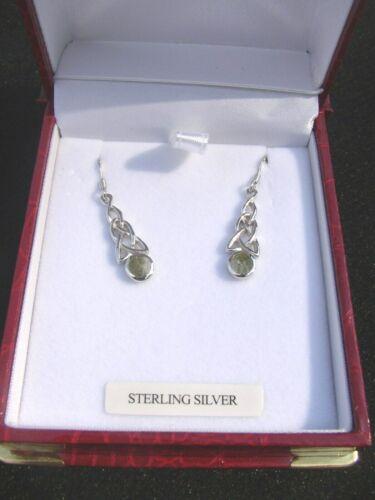 Connemara Marble by Gerard Celtic Knot Design Earrings
