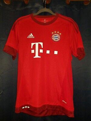 a41edecbd ADIDAS 2015-2016 Bayern Munich Home Football Jersey Soccer Shirt Size   Medium M