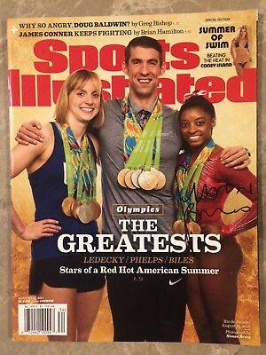 2016 Rio Olympic Champion Simone Biles Signed Sports Illustrated Magazine