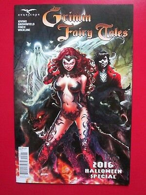 Grimm Fairy Tales 2016 HALLOWEEN SPECIAL (NM) TOLIBAO B-variant Zenescope Prince](Fairy Tales Prince)