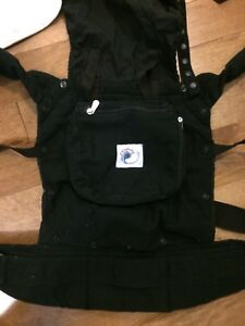 Ergo baby carrier, with infant insert and teething covers