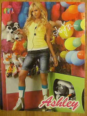 Ashley Tisdale, Zac Efron, Double Sided Full Page Pinup
